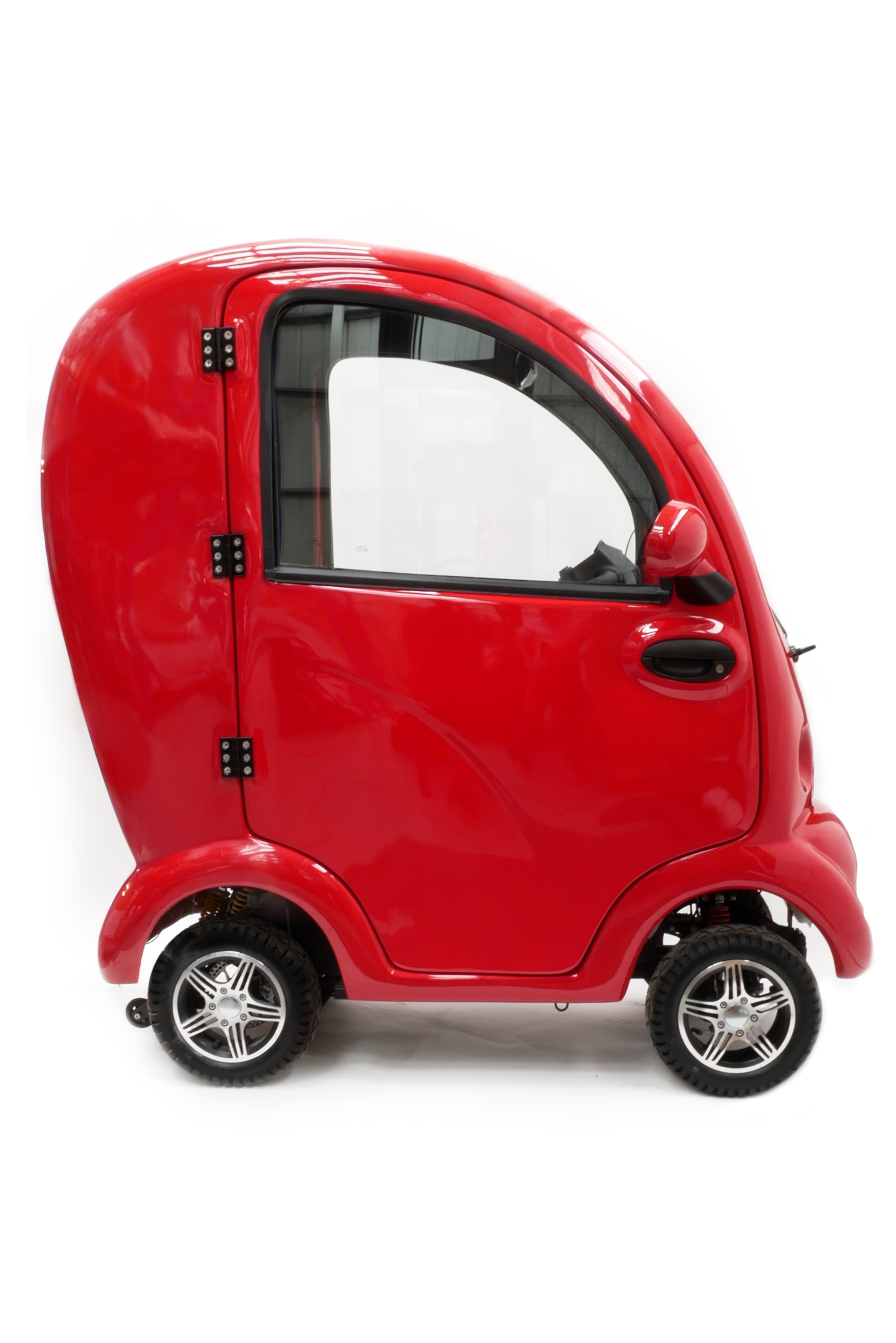 Cabin Car Scooter Red Mobility Scooters Ireland